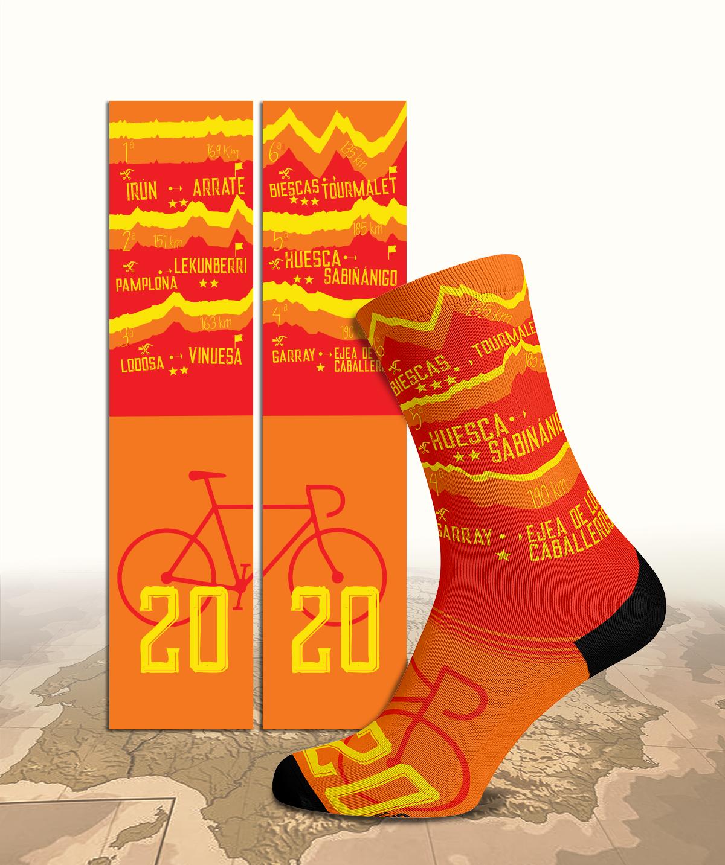 Diseño para calcetines